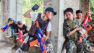 Download LTT Nerf War : SEAL X Warriors Nerf Guns Fight Criminal Group Rescue Captain Mission Impossible Video