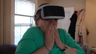 Download Grandmother Reacts To Playstation VR Video
