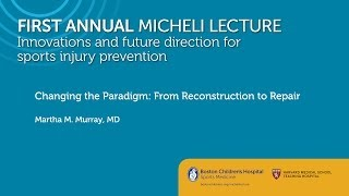 Download Changing the ACL Paradigm: From Reconstruction to Repair - Martha Murray, MD Video