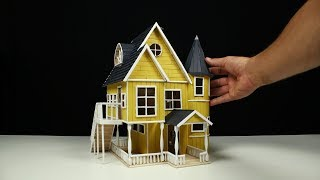 Download How to build a POPSICLE STICK HOUSE!! Video