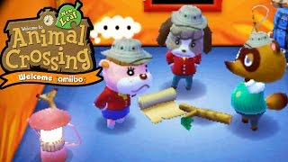 Download Animal Crossing New Leaf - Welcome amiibo - Desert Island Escape Tom Nook - 3DS Gameplay Walkthrough Video
