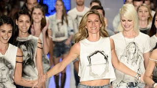 Download Gisele Bundchen Says Goodbye to the Runway in Final Fashion Show Video