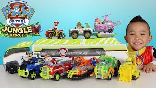 Download Paw Patrol Jungle Patroller Full Vehicles And Characters Set Toys Unboxing Ckn Toys Video