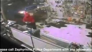 Download Raw: Thieves Ram Truck Through Florida Gun Store Video