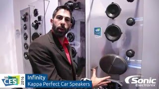 Download Infinity Kappa Perfect Car Speakers | CES 2016 Video