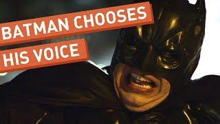 Download Batman Chooses His Voice Video
