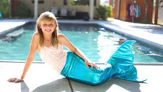 Download How to Make a Mermaid Tail! Swimmable and Very Easy Under $25 Video