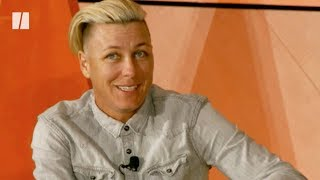 Download Abby Wambach Talks Parenting At 'How To Raise A Kid' Conference Video