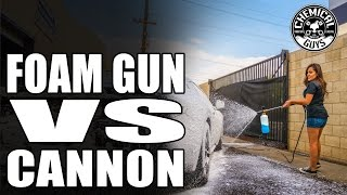 Download Foam Gun vs. Foam Cannon - Best Car Washing Tools For You! Chemical Guys Car Care Video