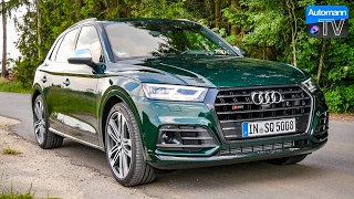 Download 2017 Audi SQ5 (354hp) - DRIVE & SOUND (60FPS) Video