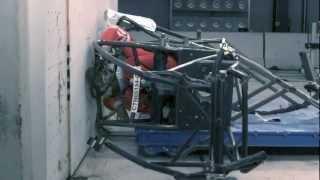 Download Sprint Car Crash Test into a Wall Video