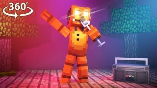 Download Five Nights At Freddy's - TOY FREDDY VISION - 360° Minecraft Video Video