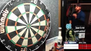 Download Rattlesnake vs Gatzas House -WDA Darts Video