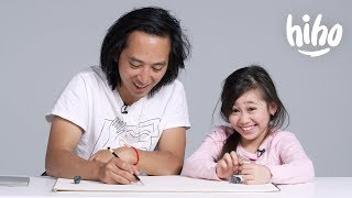 Download Kids Describe Their Parents to an Illustrator | Kids Describe | HiHo Kids Video