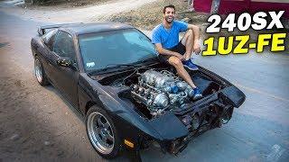 Download ARMANDO MI 240SX con MOTOR V8 en 10 MINUTOS!! Video