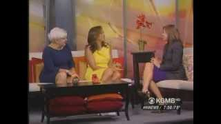 Download Hawaii News Now Hosts Mariska Hargitay and Kata Issari of Joyful Heart Video