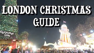 Download London Christmas Guide Festive Things to do in December Video