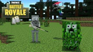 Download Monster School : Fortnite Challenge - Minecraft Animation Video