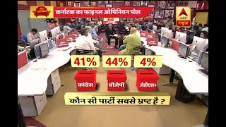 Download ABP Opinion Poll: Karnataka voters seemed satisfied with the performance of Siddaramaiah g Video