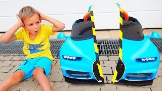 Download Vlad and Nikita pretend play and share toys Video