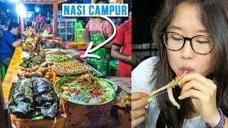 Download Street Food at Gianyar Night Market in Bali, Indonesia Video
