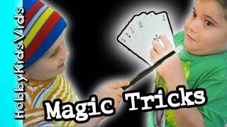 Download Magician Tricks the HobbyKids with MAGIC?! Las Vegas Store HobbyKidsVids Video