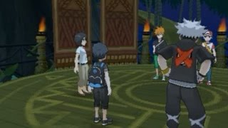 Download Pokémon Sun and Moon: Teaming up with Guzma VS Battle Legends (Blue/Green and Red) Video