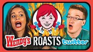 Download YouTubers React to Wendy's ROASTS Twitter!!! Video