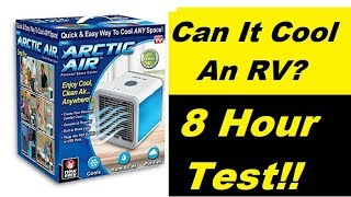 Download RV Test 8 Hour Arctic Cooler, Will It Work?? Video
