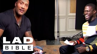 Download Roles Reversed -Dwayne (The Rock) Johnson Impersonates Kevin Hart Video