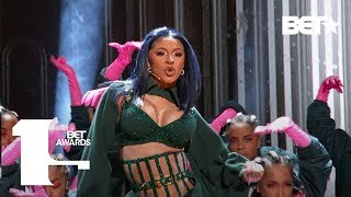 "Download Cardi B & Offset In FIRE ""Clout"" & ""Press"" Performance At The BET Awards! 