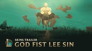 Download Might of the God Fist   God Fist Lee Sin 2017 Skin Trailer - League of Legends Video