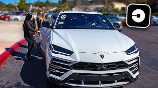 Download Picking up Uber Riders in my Lamborghini Urus! **crazy reactions** Video