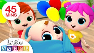 Download Baby is Here! Welcome Home, Baby Brother | Nursery Rhymes by Little Angel Video
