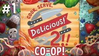 Download Cook, Serve, Delicious! 2!! CO-OP - #1 - Price & Ash are Masterchefs! (2 Player Gameplay) Video