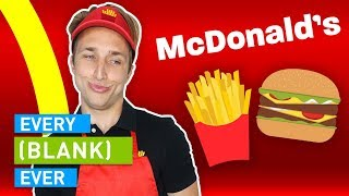 Download EVERY MCDONALD'S EVER Video