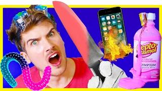 Download 1000 DEGREE KNIFE VS. RANDOM THINGS! Video