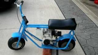 Download Cool Old School MTD Mini Bike Restored Classic G-Body Video