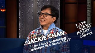 Download Jackie Chan Has Done Everything But 'Mamma Mia!' Video