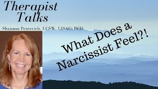 Download What Does a Narcissist Feel? Yes, they do feel; just not how you think! Video