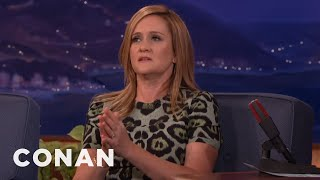 Download Why Samantha Bee Doesn't Use A Desk - CONAN on TBS Video