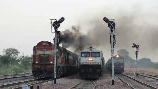 Download Land of freights GTL-BAY line Hwh bound Amaravati Exp - Indian Railway's Video