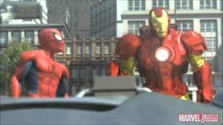 Download Spider-Man, Iron Man and the Hulk (Full and HQ) Video