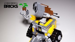 Download Lego Ideas 21303 WALL-E with Head Mount Modification Kit Speed Build Video
