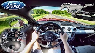 Download Ford Mustang EcoBoost AUTOBAHN POV Acceleration & TOP SPEED by AutoTopNL Video