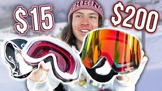 Download $15 Goggles Vs. $200 Snowboard Goggles Video