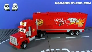 Download LEGO CARS 2 MACK'S TEAM TRUCK CRASH! Video