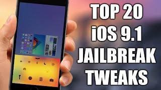 Download TOP 20 Cydia Tweaks Compatible With iOS 9.1 Jailbreak Video