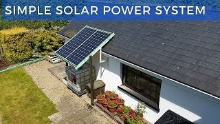 Download My Simple Solar Power System Video