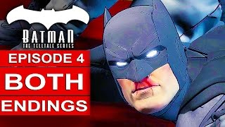 Download BATMAN Telltale EPISODE 4 BOTH ENDINGS - Go To Dent Or Go To Penguin Alternative Choices Video
